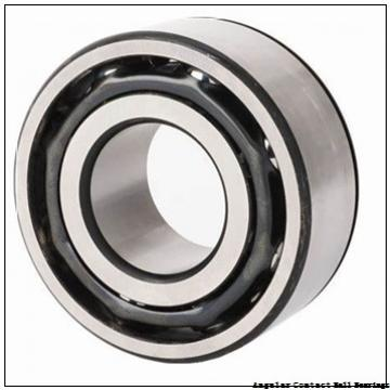 120 mm x 215 mm x 40 mm  TIMKEN 7224WN MBR  Angular Contact Ball Bearings