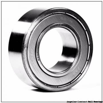 4.5 Inch | 114.3 Millimeter x 9.375 Inch | 238.125 Millimeter x 2 Inch | 50.8 Millimeter  CONSOLIDATED BEARING MS-22-AC  Angular Contact Ball Bearings